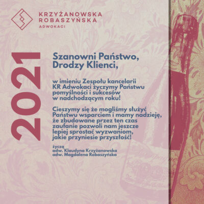 KRadwokaci - 2021 new year